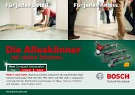 PDF - 10,0 MB - Bosch Elektrowerkzeuge für Heimwerker
