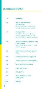 Risiko Hepatitis A, Hepatitis B auf Reisen - arbeitsmedizin-gsk.de - Seite 2