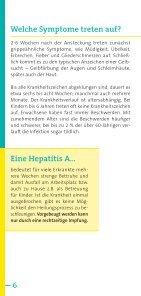 Risiko Hepatitis A, Hepatitis B auf Reisen - arbeitsmedizin-gsk.de - Seite 6