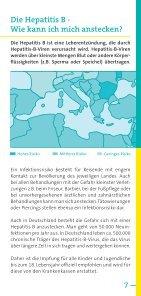 Risiko Hepatitis A, Hepatitis B auf Reisen - arbeitsmedizin-gsk.de - Seite 7