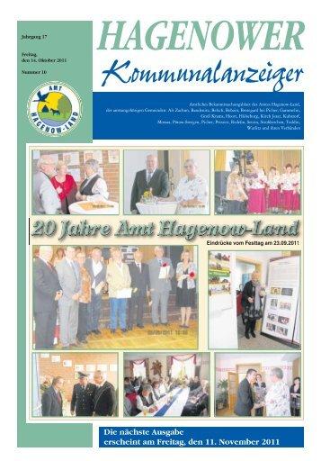 Die nächste Ausgabe erscheint am Freitag, den 11. November 2011