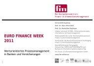 Wertorientiertes Prozessmanagement - Maleki Conferences GmbH