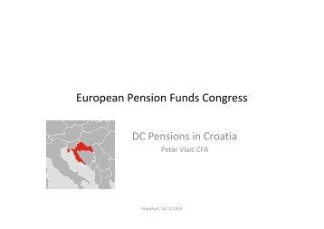 European Pension Funds Congress