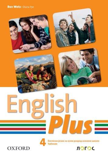 Logos Oxford Engleski 8 English Plus 4 Udzbenik