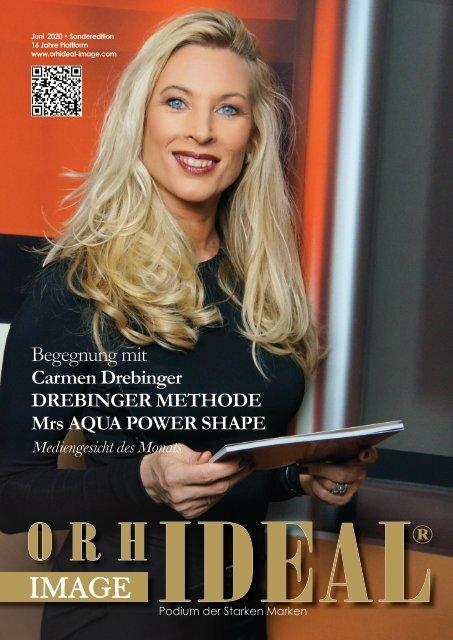 Carmen Drebinger Bodyforming Beauty im Orhideal IMAGE Magazin - Juni 2020