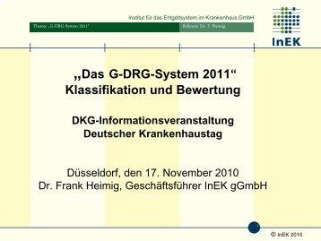 Dr. Frank Heimig - Gesellschaft Deutscher Krankenhaustag mbH
