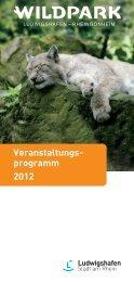 Veranstaltungsprogramm 2012 - Stadt Ludwigshafen am Rhein