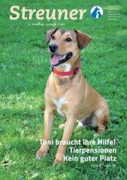 Toni braucht Ihre Hilfe! Tierpensionen Kein guter Platz - Tierheim Linz
