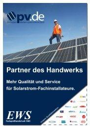 EWS Fachgroßhandel - Partner des Handwerks