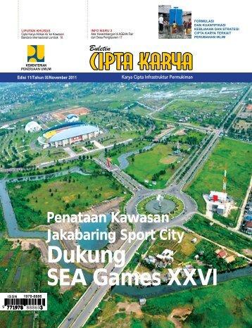 Dukung SEA Games XXVI - Ditjen Cipta Karya