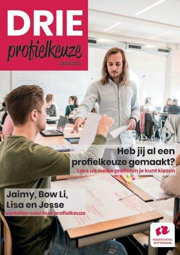 Magazine DRIE profielkeuze Social Work