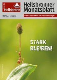 Monatsblatt Heilsbronn - April 2020