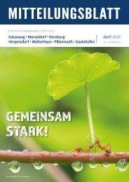 Mitteilungsblatt Nürnberg-Katzwang/Worzeldorf/Kornburg/Herpersdorf - April 2020