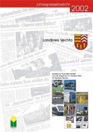 Vorwort zum Jahrespressebericht 2002 - beim Landkreis Vechta