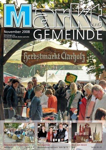 November 2008 November 2008 - Gewerbeverein Herzebrock ...