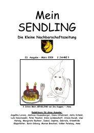 Durchblick 2009 - Mein Sendling