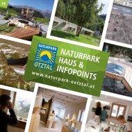 Naturpark Haus und Infopoints