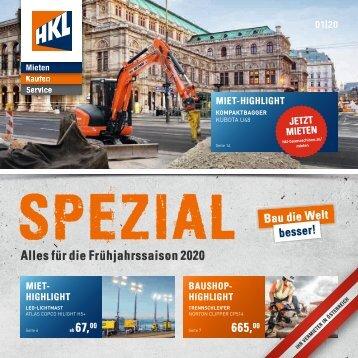 HKL Spezial | Winter & Frühjahrsaison 2020 Österreich