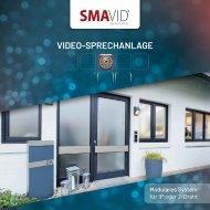 SMAVID Modulare Video-Sprechanlage (2-Draht oder IP)