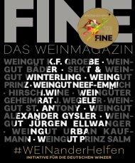 FINE DAS WEINMAGAZIN - #WEINANDERHELFEN