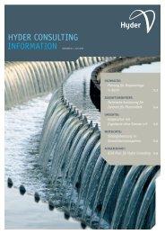 Hyder Consulting Information Ausgabe 05 | Juni 2010