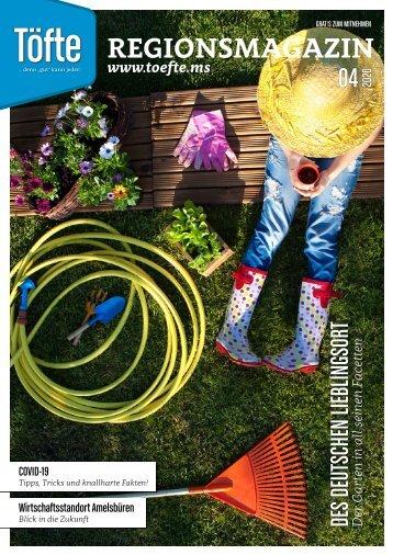 Töfte Regionsmagazin 04/2020 - Ab durch die Hecke!