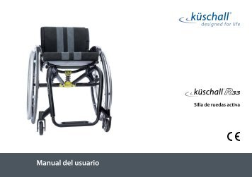 Manual Usuario Silla de ruedas - Invacare