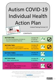 Ireland Testing Format 2.0   FILL-IN VERSION WITH SPACES FOR TYPING AND IMAGES Autism COVID-19 Individual Health Action Plan