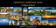 ARMENIAN HERITAGE SITES IN TURKEY AND IRAN