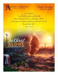 Easter Sunday Bulletin 2020