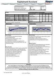 Kapitalmarkt Euroland - Naspa