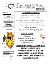 HAPPY HOUR LABOR DAY PICNIC RESIDENT APPRECIATION DAY
