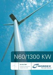 N60/1300 KW - Nordex