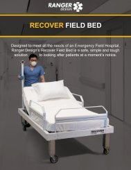 Ranger Design's Recover Field Bed