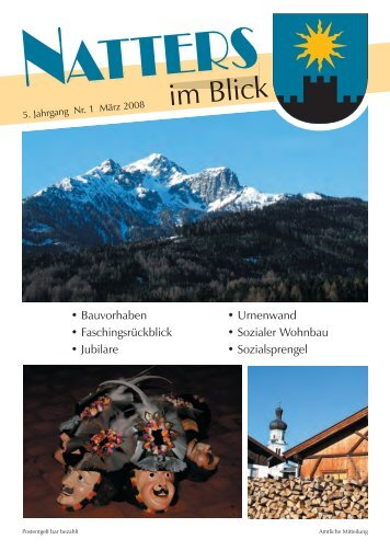 40 Jahre Bäckerei Lanziner in Natters - Natters - Land Tirol