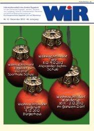 Nr. 12 · Dezember 2012 · 40. Jahrgang ... - Amt Eggebek