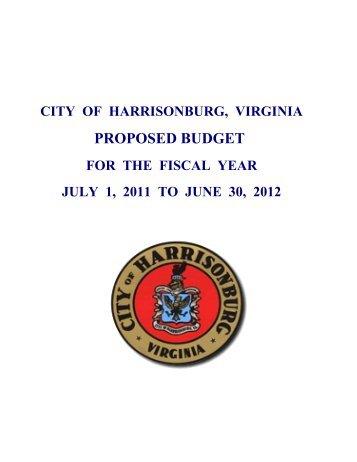 organizational values - City of Harrisonburg