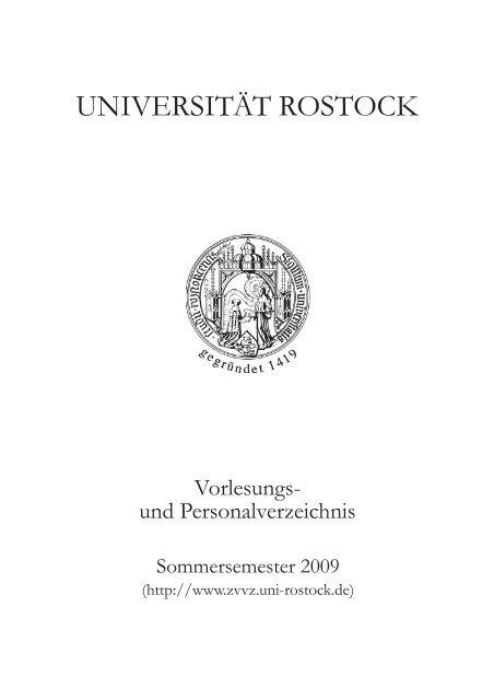Online Portal Fur Lehre Studium Und Forschung Universitat Rostock