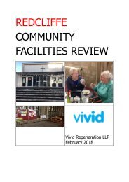 St Mary Redcliffe Community Facilties Review