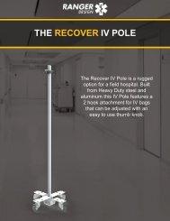 The Ranger Design Recover IV Pole