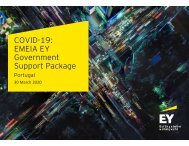 Covid-19 EMEIA EY Government Support Package