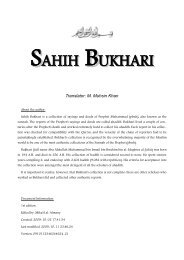 2) Selected 500 Hadith from Sahih Bukhari & Muslim - The Message