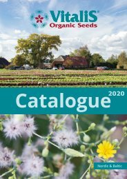 Catalogue Vitalis Nordic & Baltic