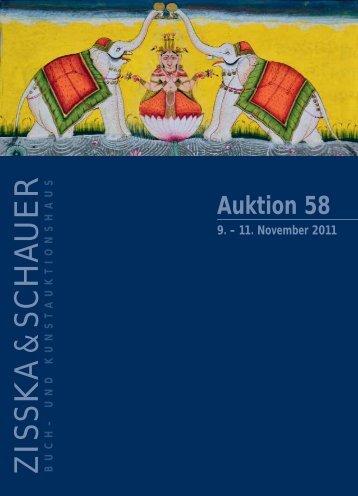 Auktion 58 9. - Zisska+Schauer