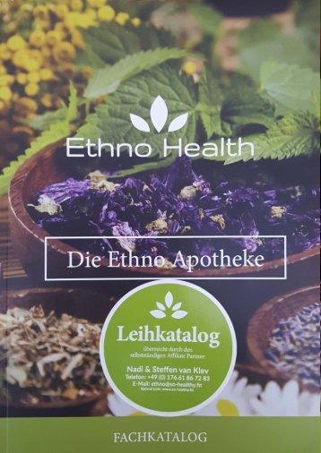 Fachkatalog, Die Ethno Apotheke, Selbständiger-Ethno Health Affialte Partner ID: 14267