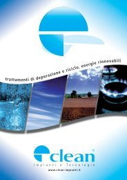 Depurazione biologica - Lavaruote