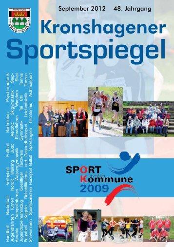 September 2012 48. Jahrgang - TSV Kronshagen