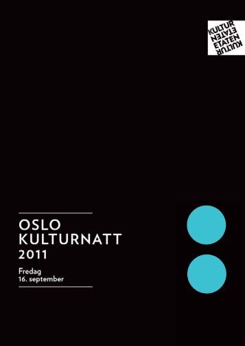 Interessert i byhistorie? - Oslo kulturnatt - Kommune