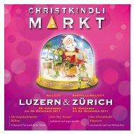 Das Christkindli- Magazin - Christkindlimarkt
