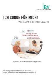 Page 1 Vollmacht in leichter Sprache Informationen in leichter ...
